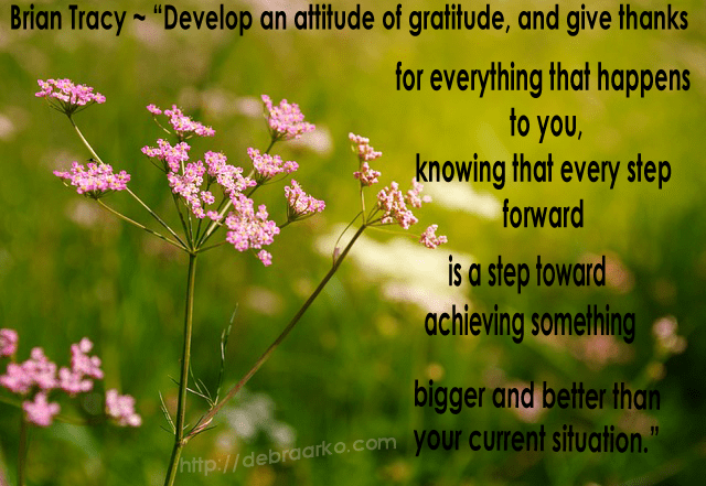 Practicing Gratitude-Business Leadership
