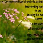 Practicing Gratitude-Business Leadership