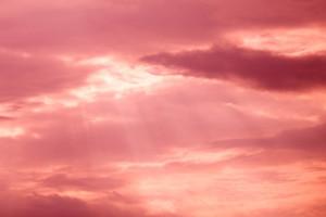 Pink cloud metaphysics